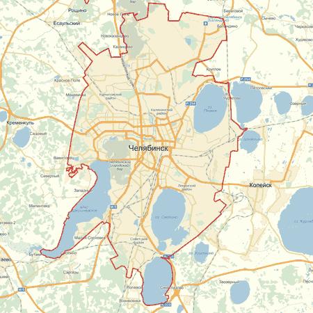 карта скачать бесплатно челябинска