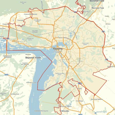 Карта Казани Скачать - фото 5