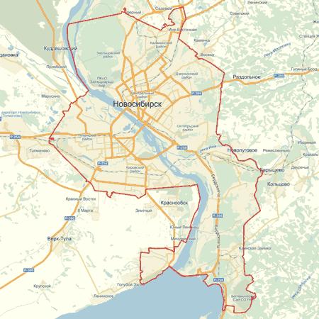 Карта новосибирск скачать