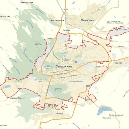 скачать карта ставрополя