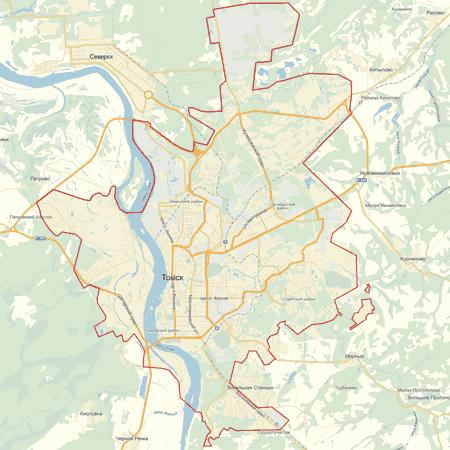 карту томска скачать - фото 9