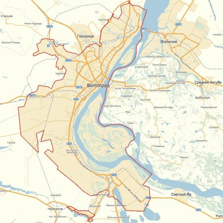 Карта волгоградас улицами фото